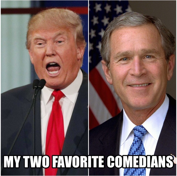 remember when we would laugh at comedians and listen to politicians - meme