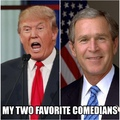 remember when we would laugh at comedians and listen to politicians
