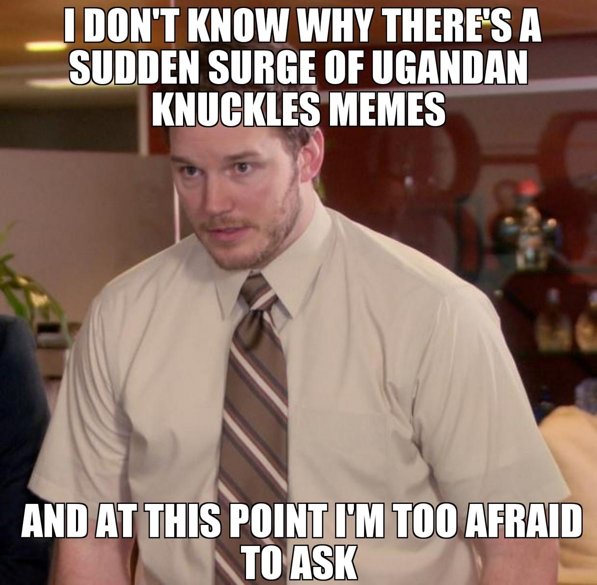 Am I missing something? - meme