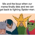 meme and the boys