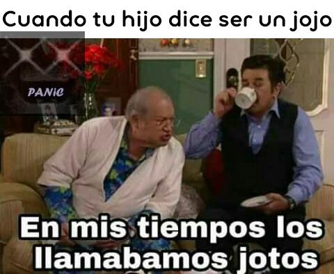 Joto + jojo = jojoto - meme