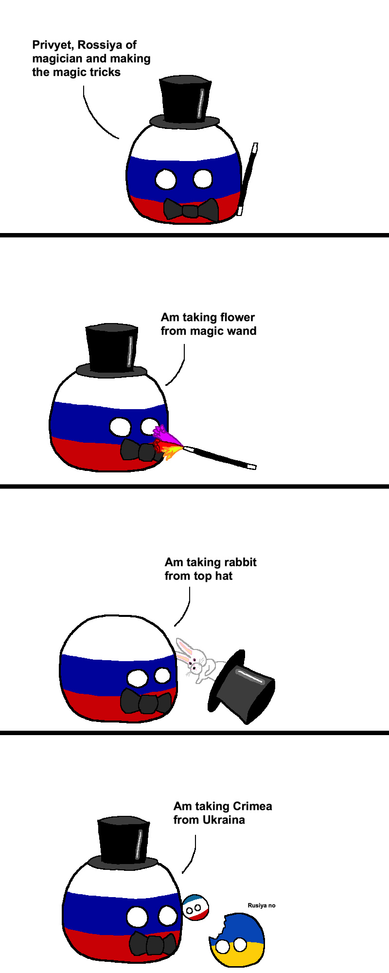 Russia's Magic Show - meme