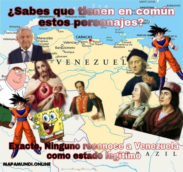 Venezuela no es legitimo - meme