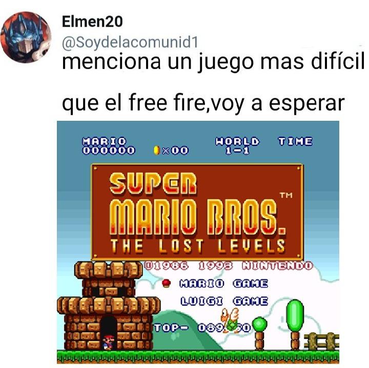 Super Mario Bros 2 (En Japón) - meme