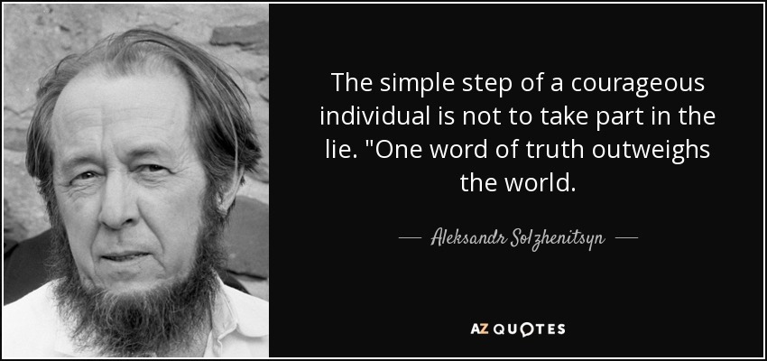 Aleksandr Isayevich Solzhenitsyn lived in Communist Russia tried to warn the west of the dangers of Socialism - meme