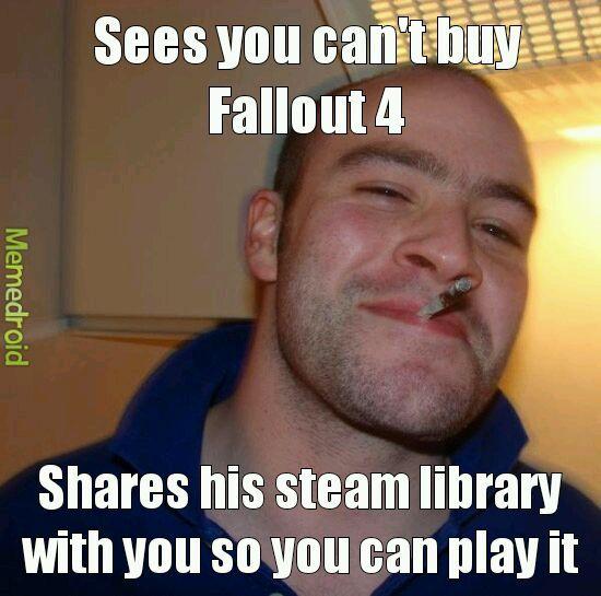 Good guy Fallout - meme