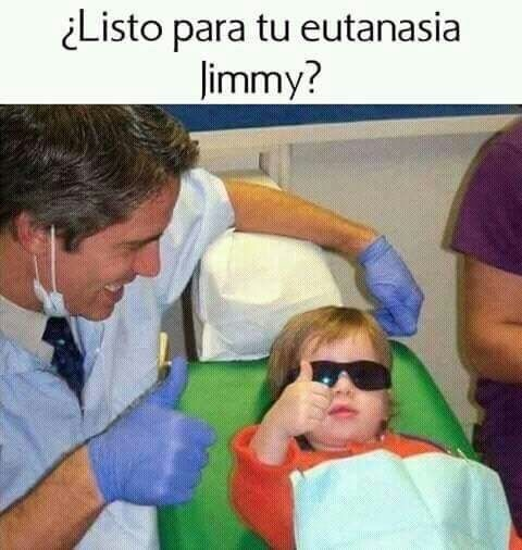 Jimmy puto amo. - meme