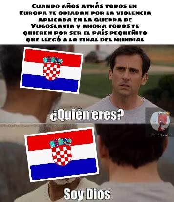 Ese Croacia es todo un loquillo - meme