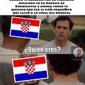 Ese Croacia es todo un loquillo