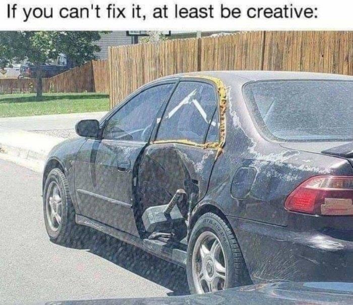 Get creative. - meme