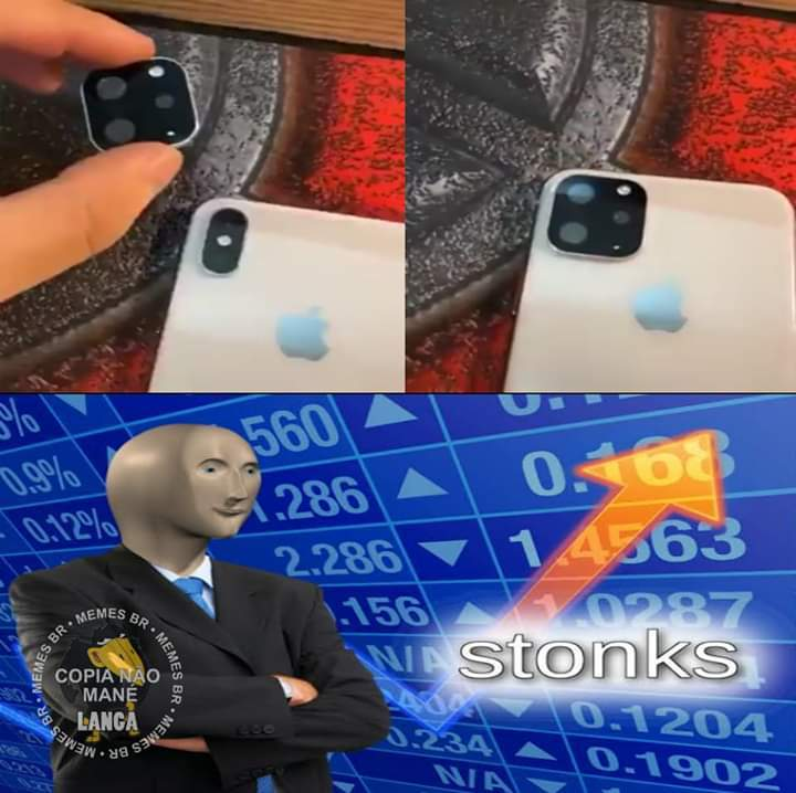 i̶P̶h̶o̶n̶e̶ ̶X̶ iPhone 11 - meme