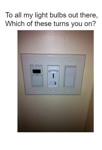 Light Switches - meme