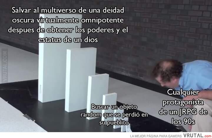 JRPG - meme