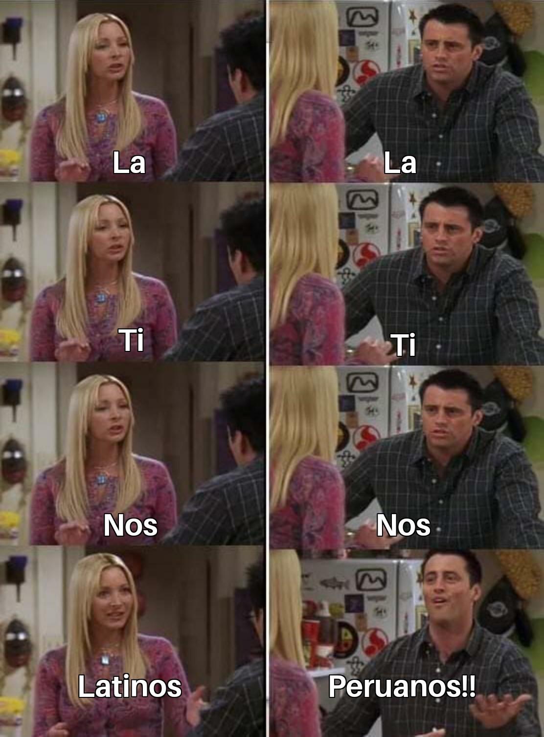 Jjsjs peruanos - meme