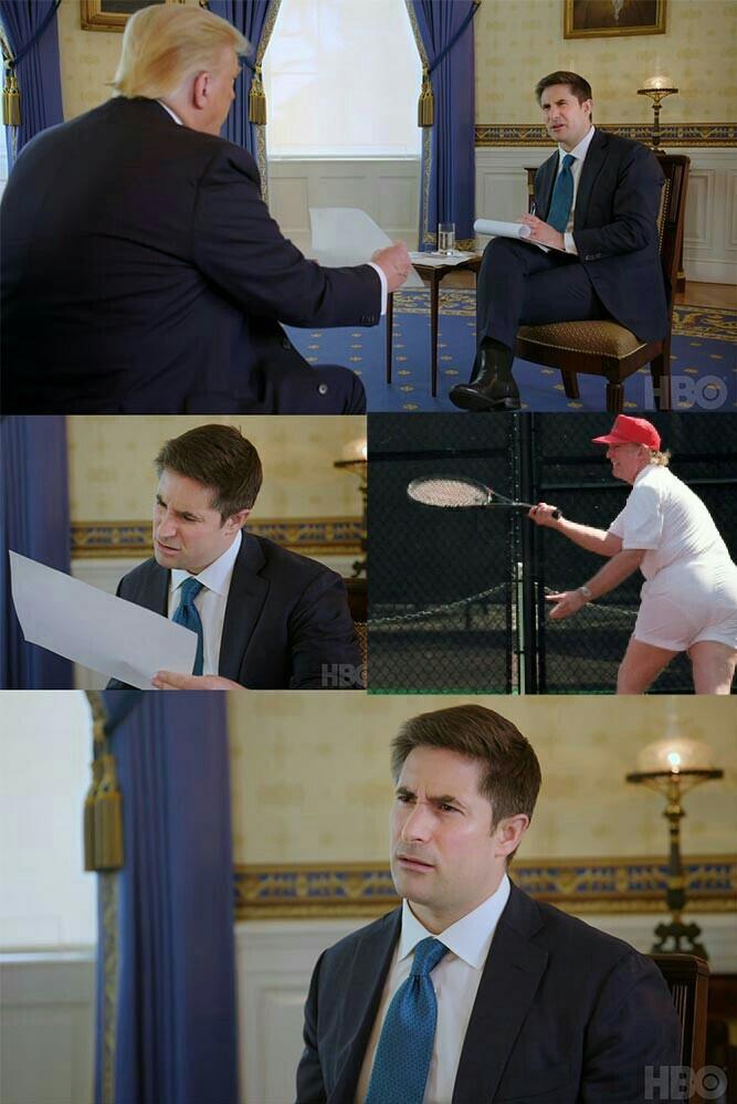 Não sabia que você jogava tênis - meme