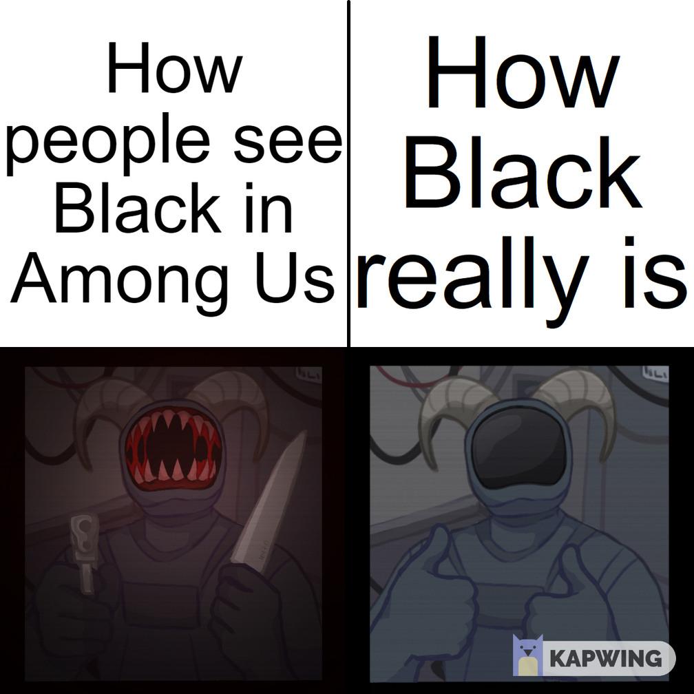 Among Us Logic - meme