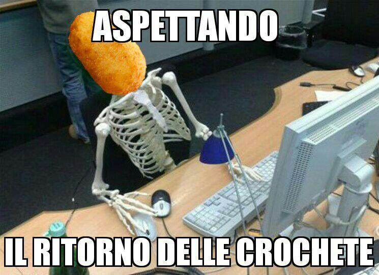 Crocheta - meme
