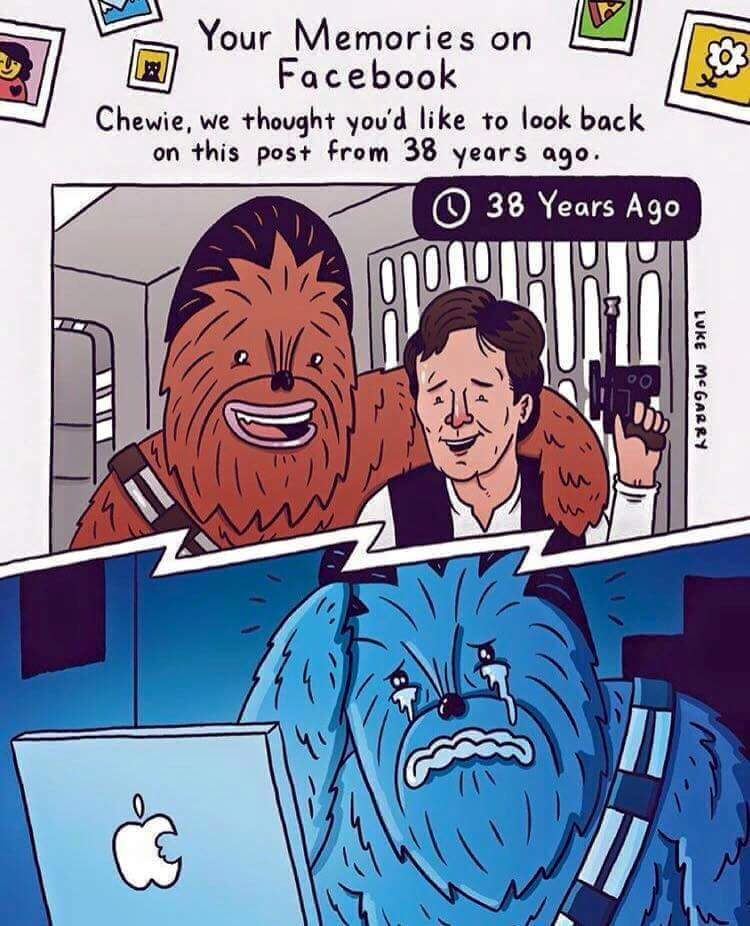 Chewbacca went Solo and needs a PC - meme