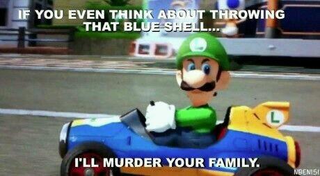 Geez Luigi calm down - meme