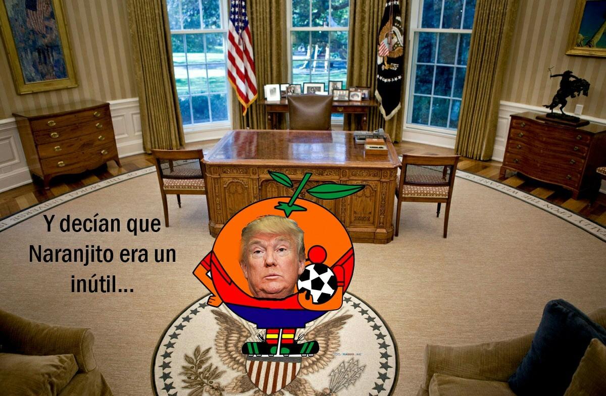 Maldito naranjito perverso - meme