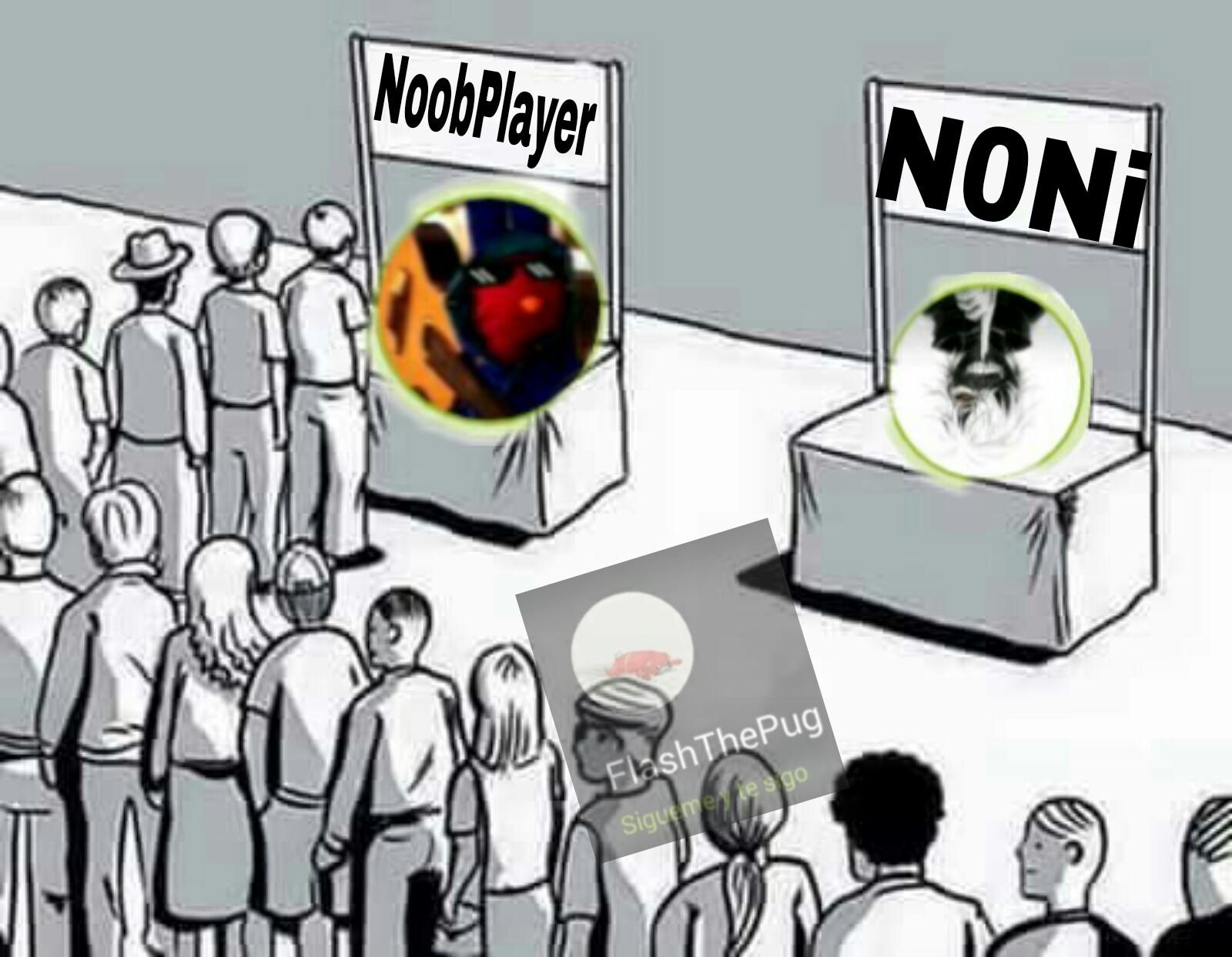 NoobPlayer eres el mejor :) - meme