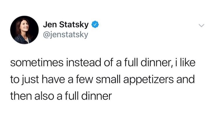 I eat too much - meme