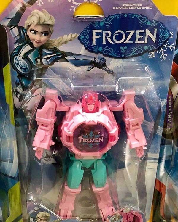 Frozen: Revenge of the Fallen - meme