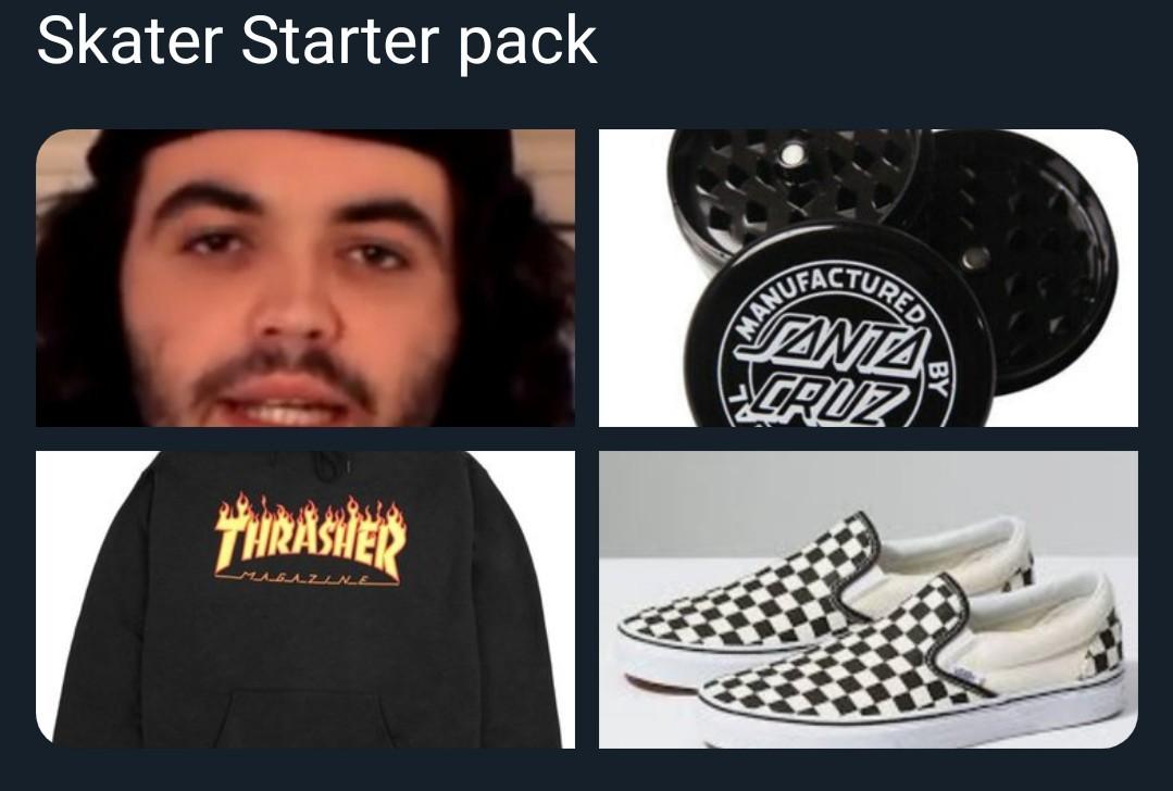 Skater - meme