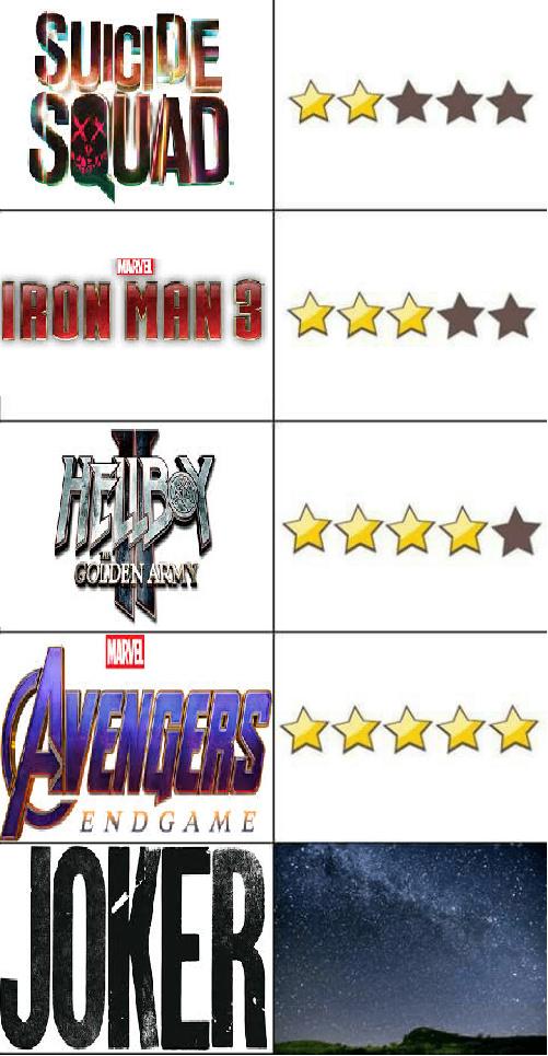 peliculas de superheroes - meme