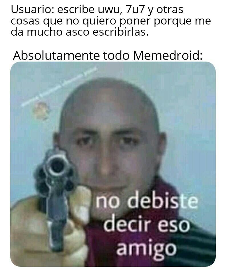 Muerte a lo otakus - meme
