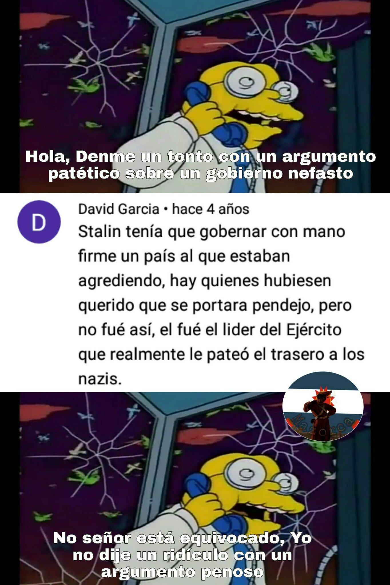 Que bueno que mataron a los N4zIz- EL MARICON DE IZQUIERDA - meme