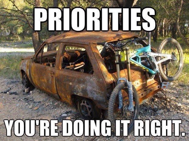 Priorities - meme