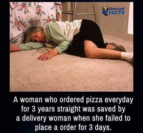 pizza for life - meme