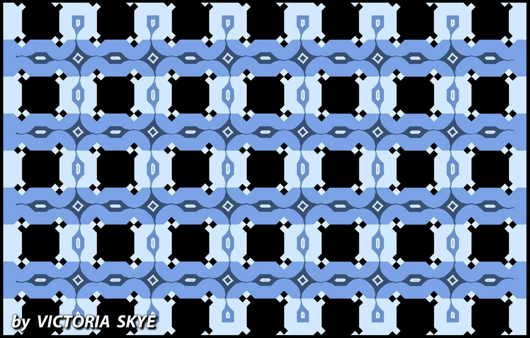 These horizontal lines are perfectly parallel - meme