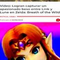 La leyenda de zelda: Link se culea un pez