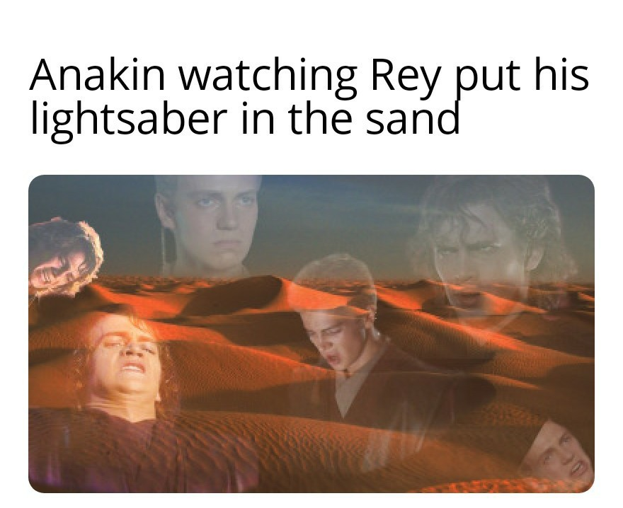 I hate sand, its course and gets everywhere - meme