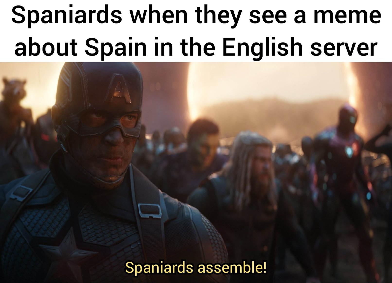 Nobody expects de Spanish inquisition - meme