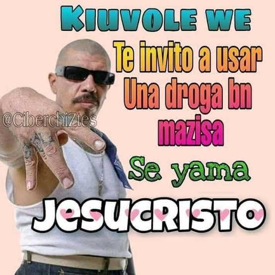 Jesucristo - meme