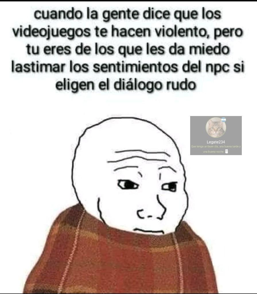Videojuegos - meme