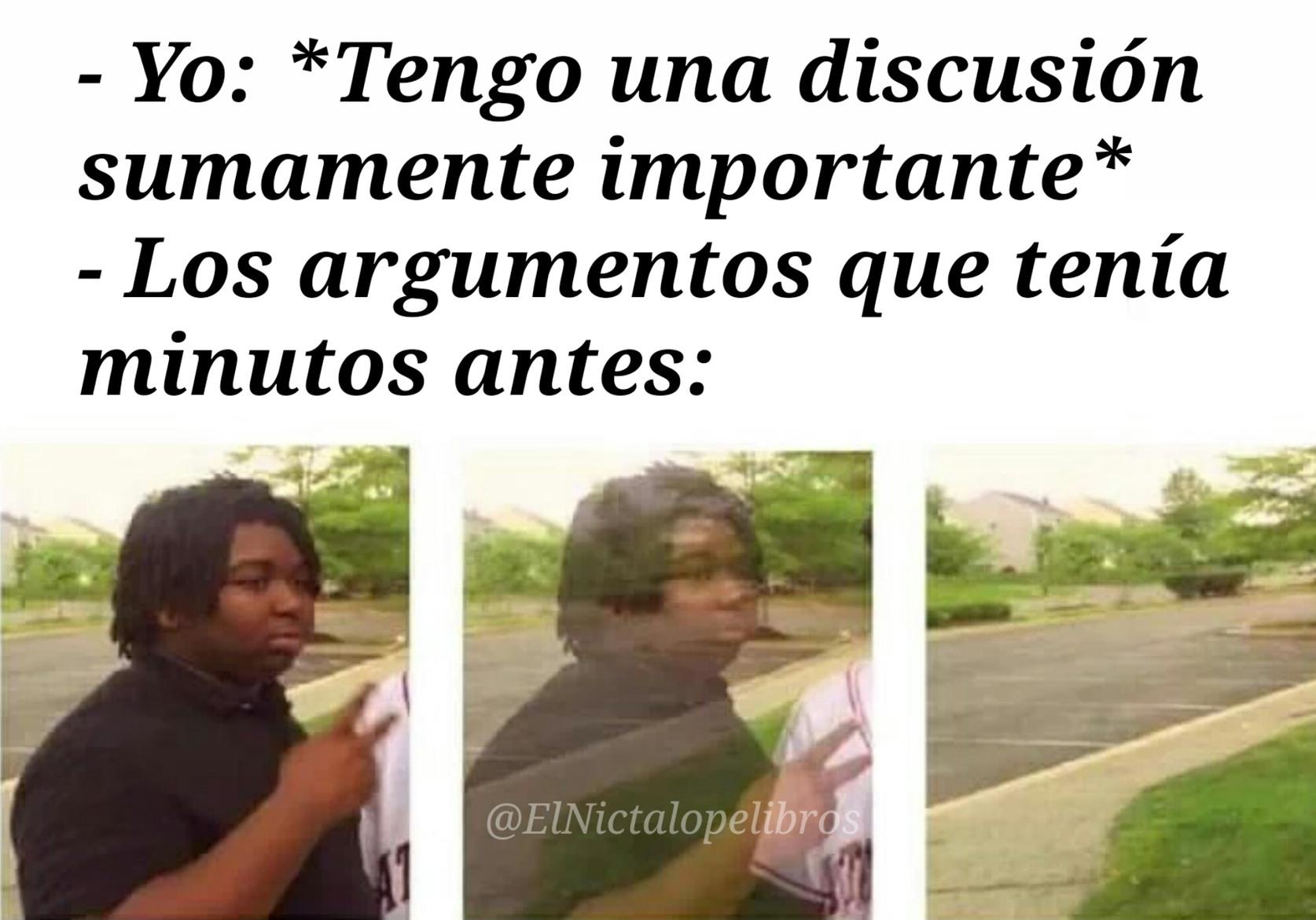 Argumentos - meme