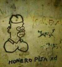 Homero pija - meme