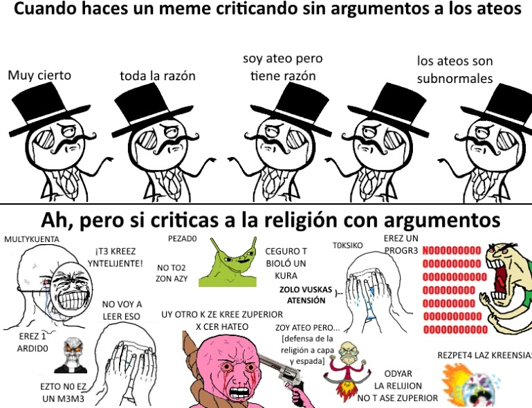 Forzafr3e es puto :^) - meme