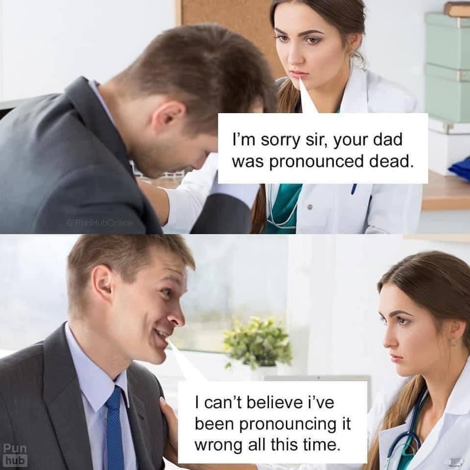 "That damn silent ""e"" - meme"