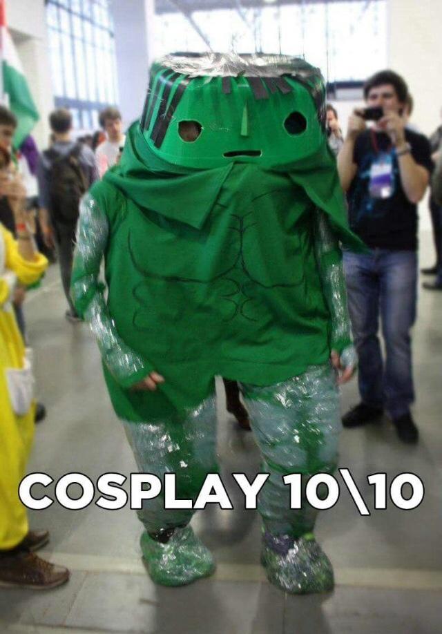 isso q é cosplay - meme
