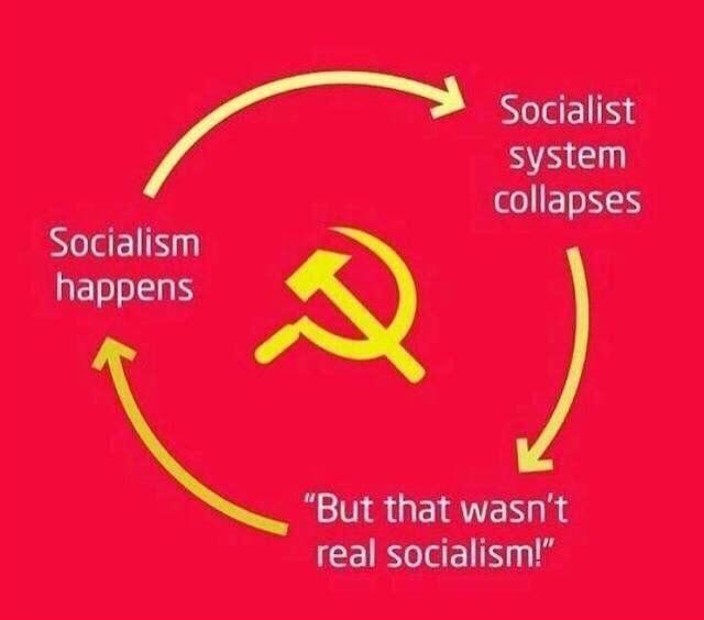 that wasn't true socialism - Meme by Benuspenus :) Memedroid