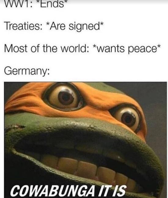Damn Germans - meme