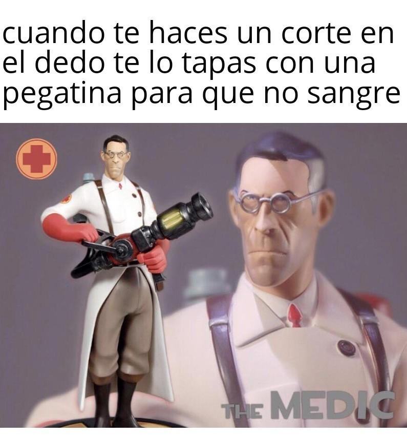 Medic - meme