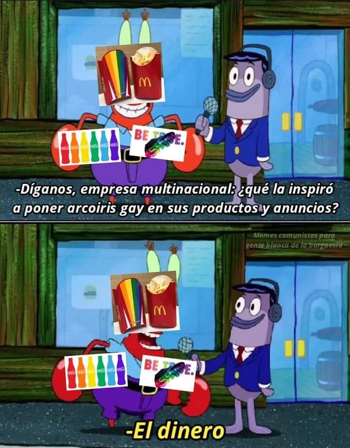 ¡Hey Hey Hey! Las compañías son muy gays - meme
