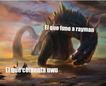 Yo fune a rayman - meme