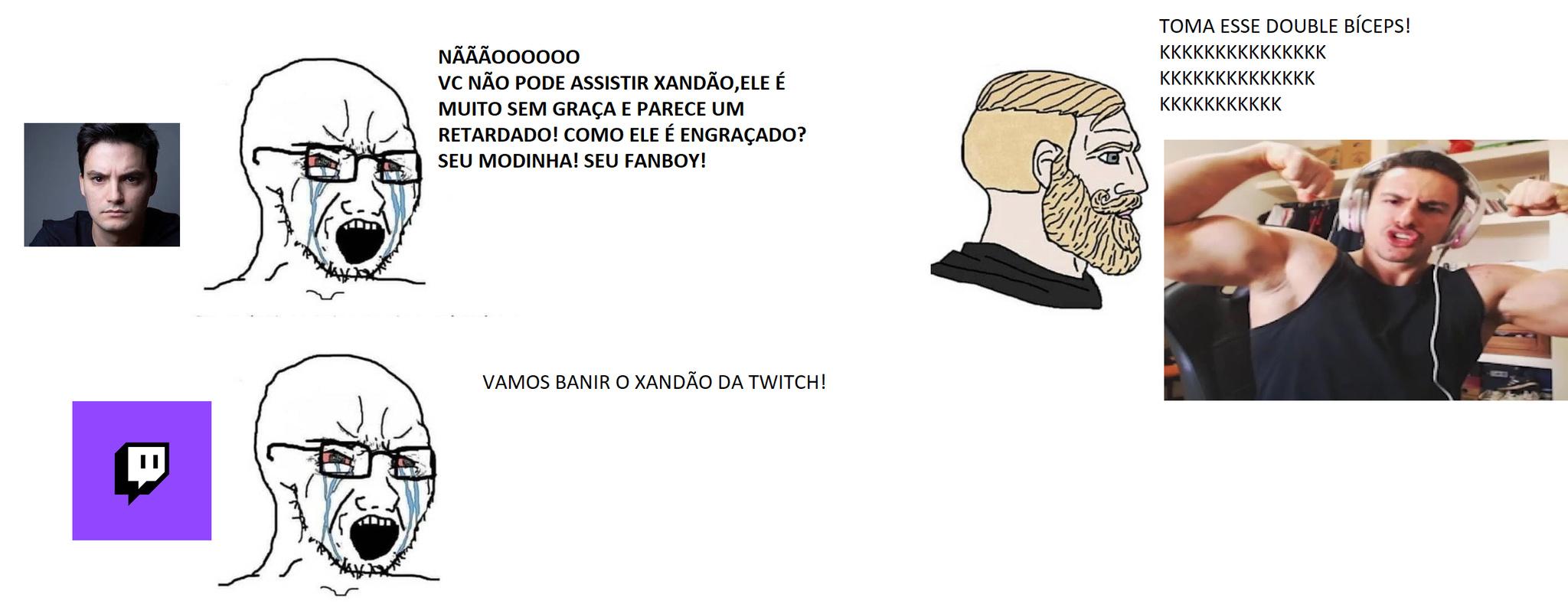 XANDÃO,O ÚLTIMO HERÓI DA TERRA!!! - meme